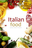 Alimento italiano. Fotografía de archivo libre de regalías