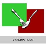 Alimento italiano Imágenes de archivo libres de regalías