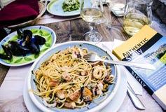 Alimento italiano Fotos de Stock