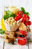 Alimento italiano fotografia stock