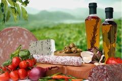 Alimento italiano fotografía de archivo