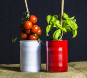 Alimento italiano fotografia de stock