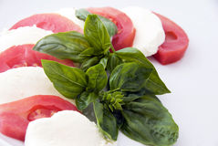 Alimento italiano: caprese Fotos de Stock Royalty Free