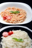 Alimento italiano caseiro imagem de stock royalty free