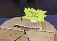 Alimento italiano della via Fotografia Stock Libera da Diritti