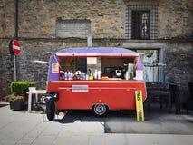 Alimento italiano della via Fotografia Stock