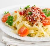 Alimento italiano - massa fotos de stock royalty free