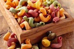 Alimento italiano Pasta Fotografie Stock Libere da Diritti