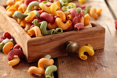 Alimento italiano Pasta Fotografia Stock Libera da Diritti