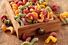Alimento italiano Pasta Fotografia Stock