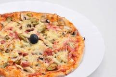 Alimento italiano - pizza Fotografia Stock Libera da Diritti