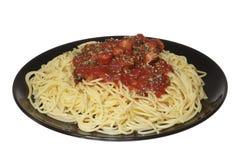 Alimento italiano: Spaghetti Immagine Stock Libera da Diritti