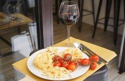 Alimento italiano típico imagens de stock royalty free