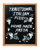Alimento italiano tradicional Imagem de Stock