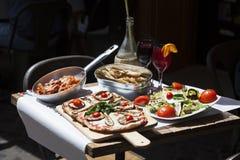 Alimento italiano tradicional fotografia de stock