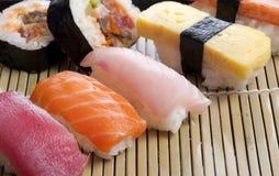 Alimento japonés Imágenes de archivo libres de regalías