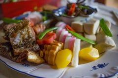 Alimento japonés tradicional Fotografía de archivo