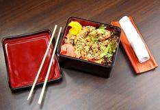 Alimento japonês Fotografia de Stock