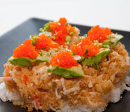 Alimento japonês da fusão Imagem de Stock Royalty Free