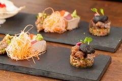 Alimento japonês da fusão Foto de Stock Royalty Free