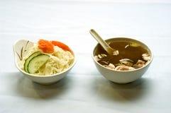 Alimento japonês, sopa   foto de stock royalty free