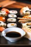 alimento japonês, sushi foto de stock royalty free