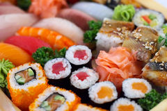 Alimento japonês tradicional Foto de Stock