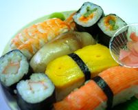 Alimento japonés 04 Fotos de archivo
