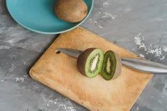 Alimento - kiwi, fondo Fotografia Stock