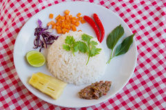 Alimento limpo tailandês quente e picante Imagens de Stock Royalty Free