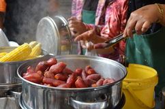 Alimento malaio da rua Fotografia de Stock Royalty Free