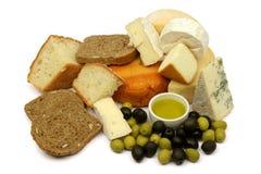 Alimento mediterrâneo Foto de Stock