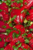 Peperoni arrostiti farciti Immagine Stock Libera da Diritti