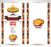 Alimento messicano illustrazione di stock