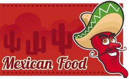 Alimento messicano Fotografia Stock Libera da Diritti