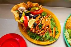 Alimento messicano del ristorante Fotografia Stock