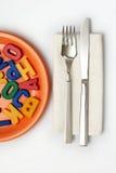 '' Alimento Metaphoric para o pensamento '' imagens de stock