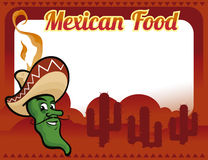 Alimento mexicano Fotos de Stock Royalty Free