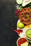 Alimento mexicano imagem de stock royalty free