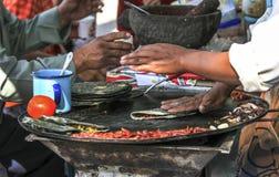 Alimento mexicano da rua imagens de stock royalty free