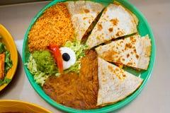 Alimento mexicano do restaurante imagens de stock royalty free