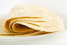 Alimento mexicano - tortilha fotografia de stock royalty free