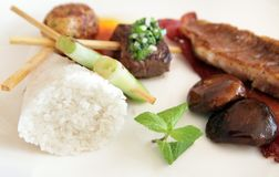 Alimento misturado Imagens de Stock Royalty Free