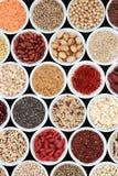 Alimento natural alto secado da fibra fotografia de stock royalty free