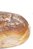 Alimento natural cozido fresco saboroso do baguette do bolo do pão Imagens de Stock