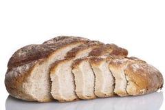 Alimento natural cozido fresco saboroso do baguette do bolo do pão Imagens de Stock Royalty Free