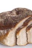 Alimento natural cozido fresco saboroso do baguette do bolo do pão Fotografia de Stock