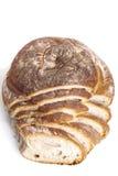 Alimento natural cozido fresco saboroso do baguette do bolo do pão Fotos de Stock