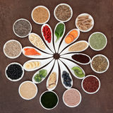 Alimento natural do body building imagens de stock royalty free