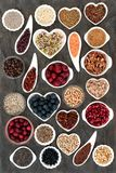 Alimento natural do vegetariano e do vegetariano imagens de stock